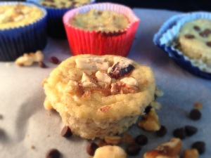 banana nut muffins, grain free, little sprouts kitchen, dairy free, paleo
