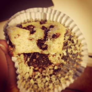 banana, chocolate chip, muffins, paleo, grain free, littlesproutskitchen
