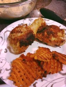 fried chicken, paleo, little sprouts kitchen, gluten free