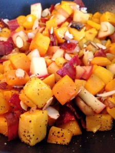 butternut squash, home fries, paleo, grain free, little sprouts kitchen