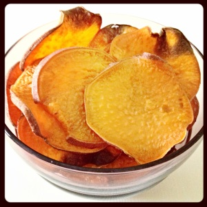 yam chips, paleo, snack, little sprouts kitchen