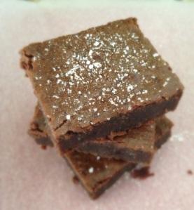 sea salt brownies, paleo, gluten free, little sprouts kitchen, gluten free brownies