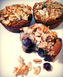 blueberry muffin, blueberry, muffin, paleo, gluten free, little sprouts kitchen