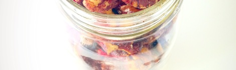 pecan cranberry trail mix