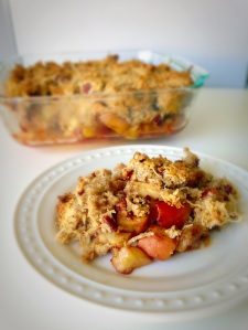 apple crisp, paleo, little sprouts kitchen, fall