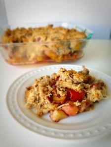apple crisp, paleo, little sprouts kitchen, fall