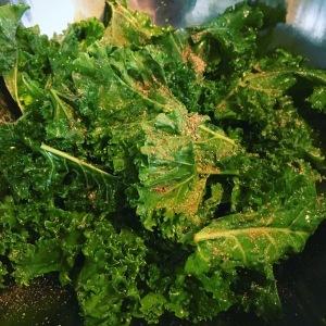 cajun kale chips. little sprouts kitchen, kale chips, paleo snacks